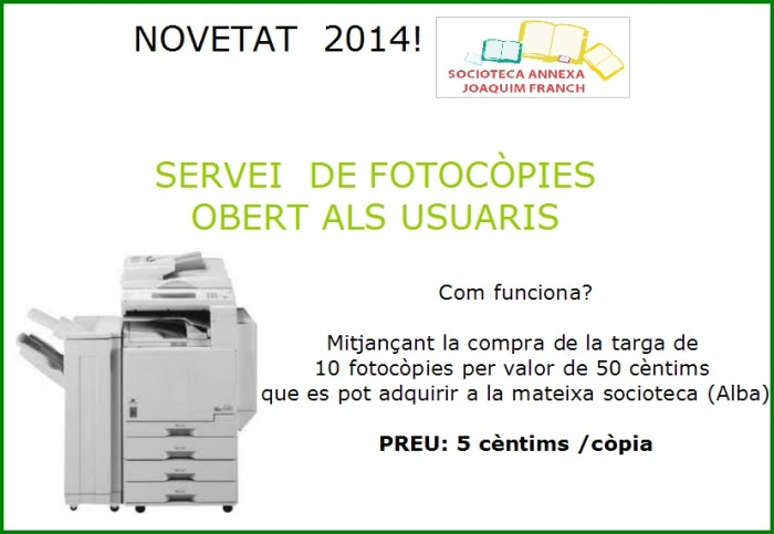 fotocopies